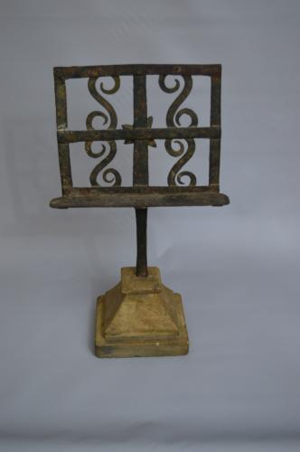 Eary 19th Century Iron Table Lectern