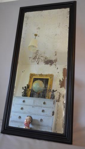 Large Distressed Bevelled Mirror