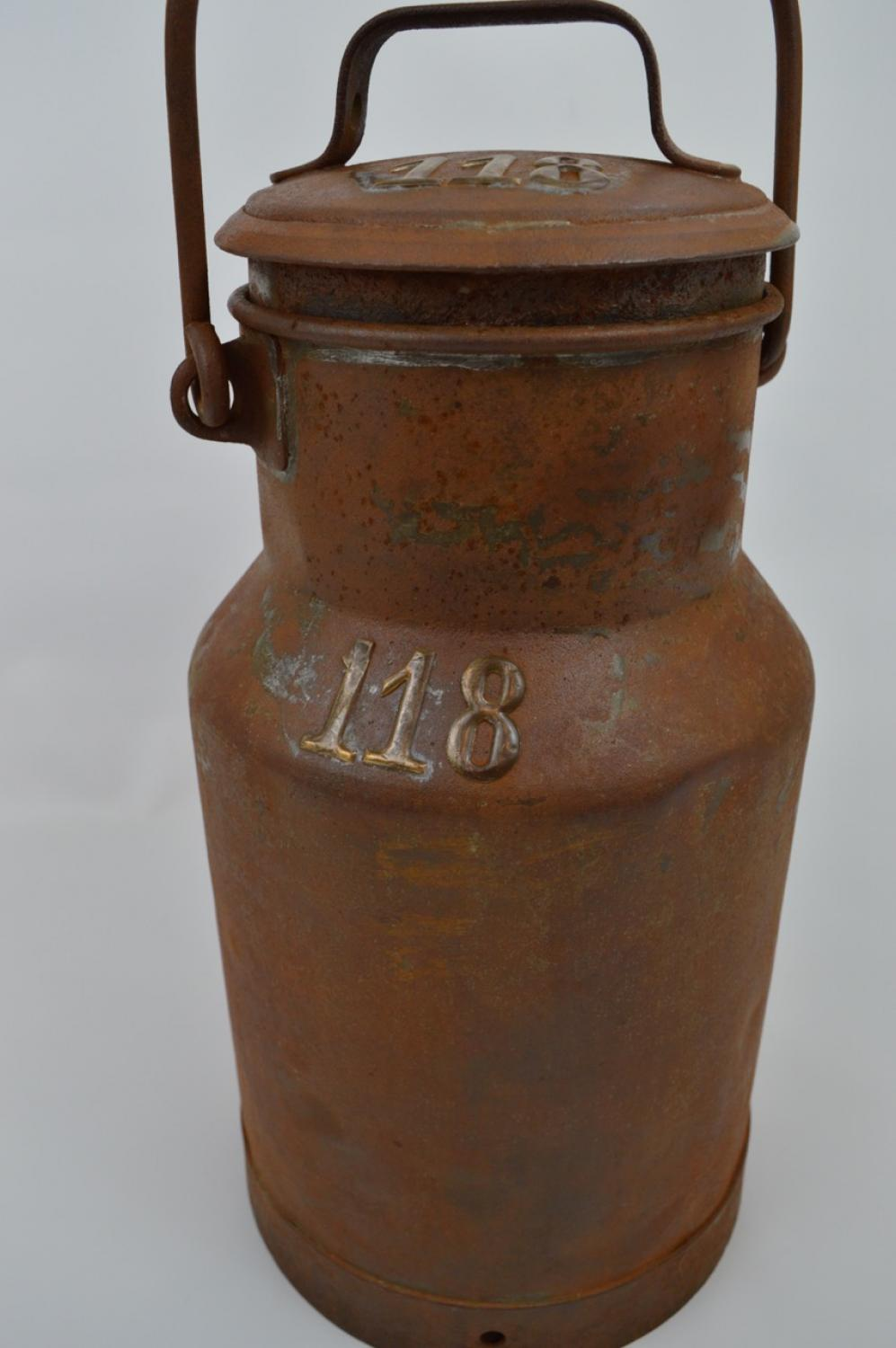 Small Vintage Milk Churn