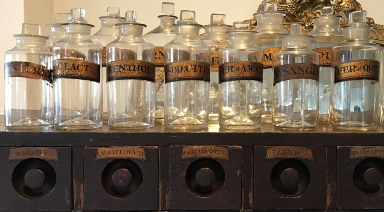 Collection Of 19th Century Apothecary Jars