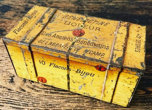 Decorative French Painted Tin