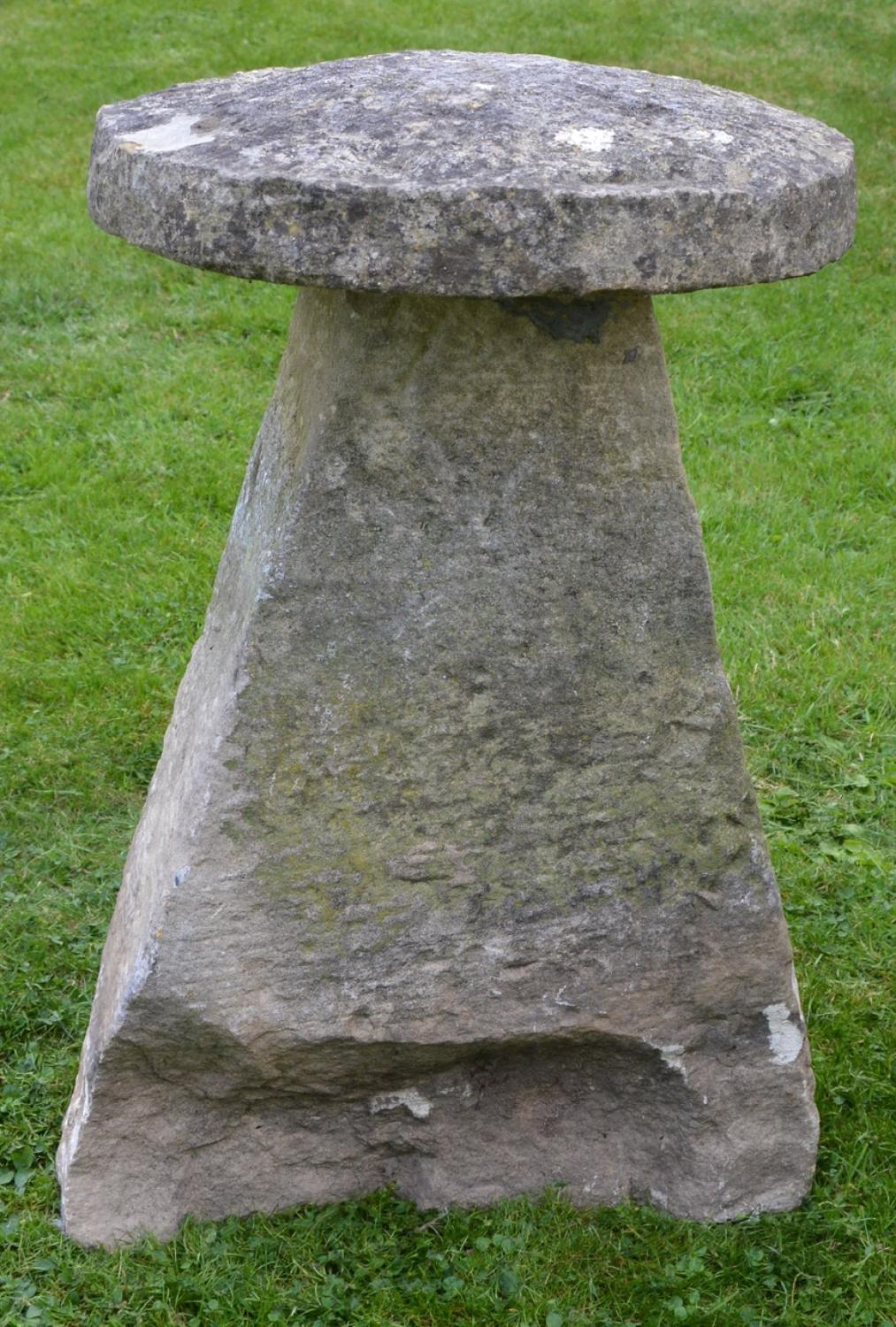 Large Antique Staddle Stone