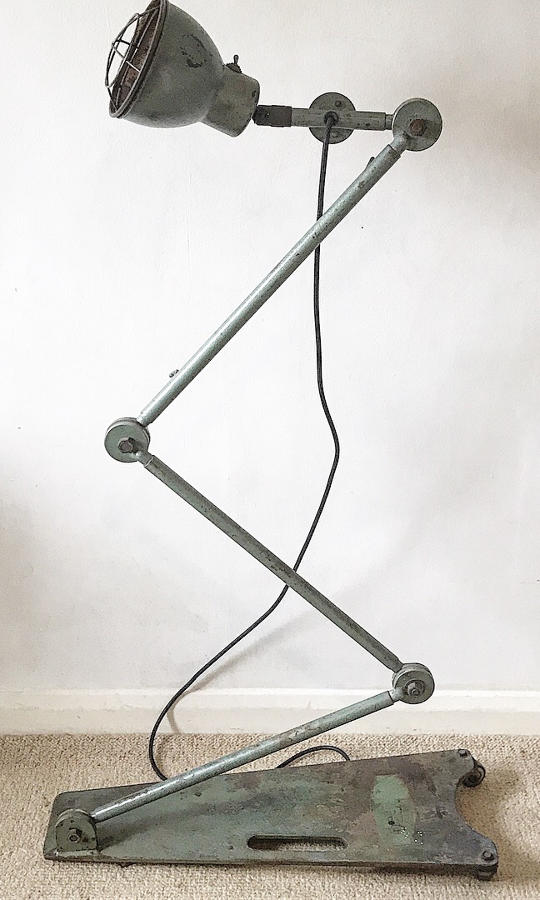1950's Industrial Desvil Lamp