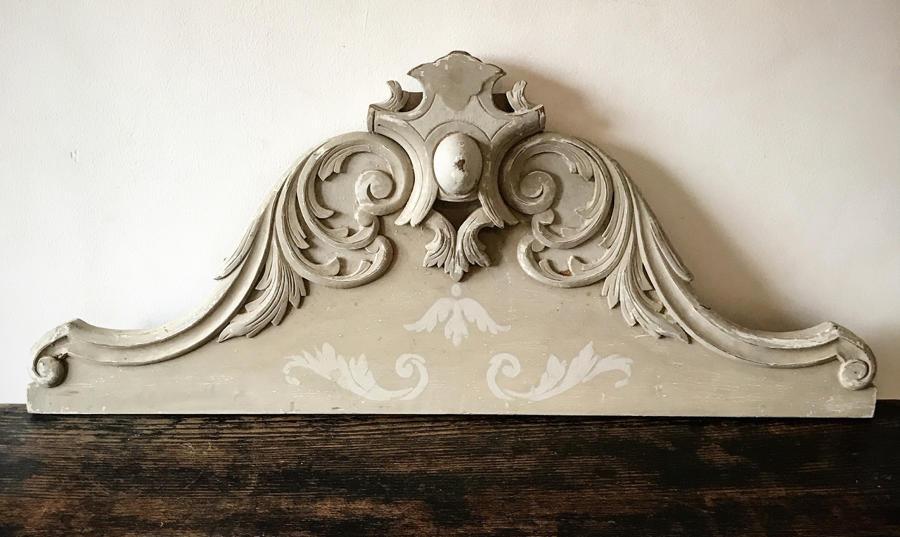 French Door Pediment
