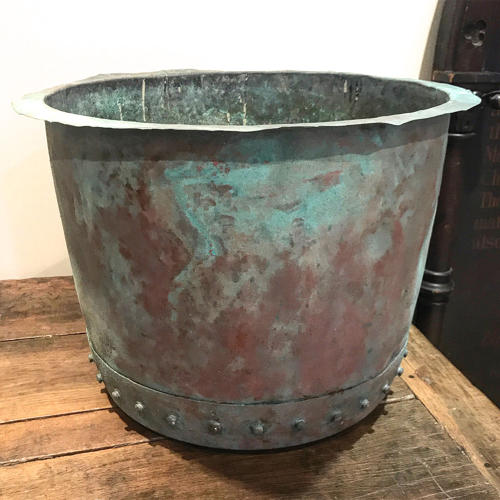 19TH CENTURY RIVETED COPPER