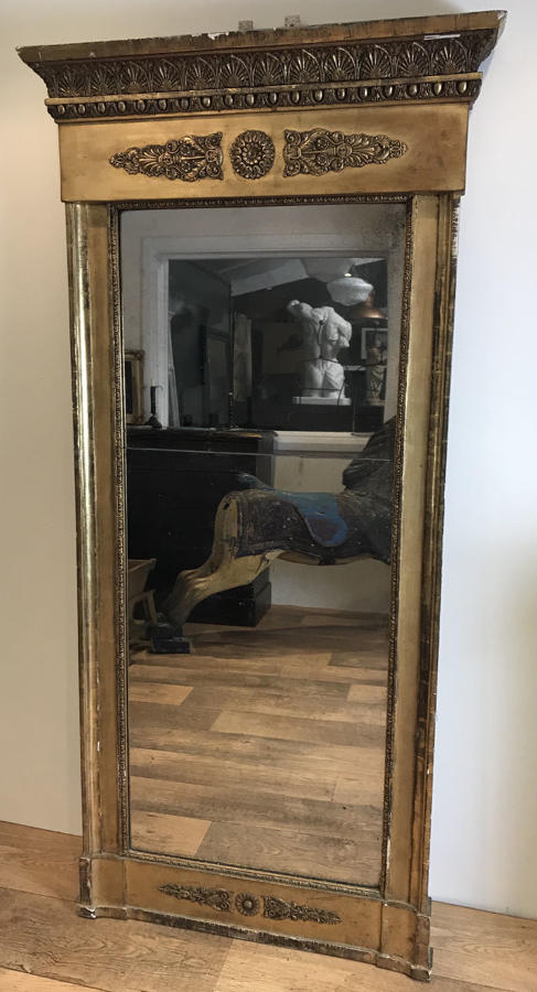 REGENCY PIER GLASS MIRROR