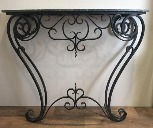 LARGE FRENCH CONSOLE TABLE