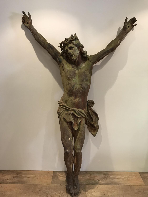 LARGE 19TH CENTURY JESUS CHRIST CORPUS