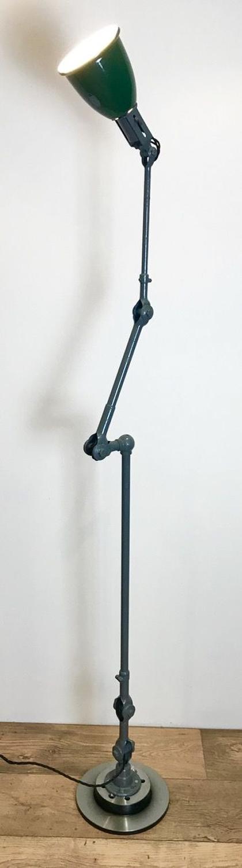 LARGE 1930'S DUGDILLS FLOOR STANDING LAMP