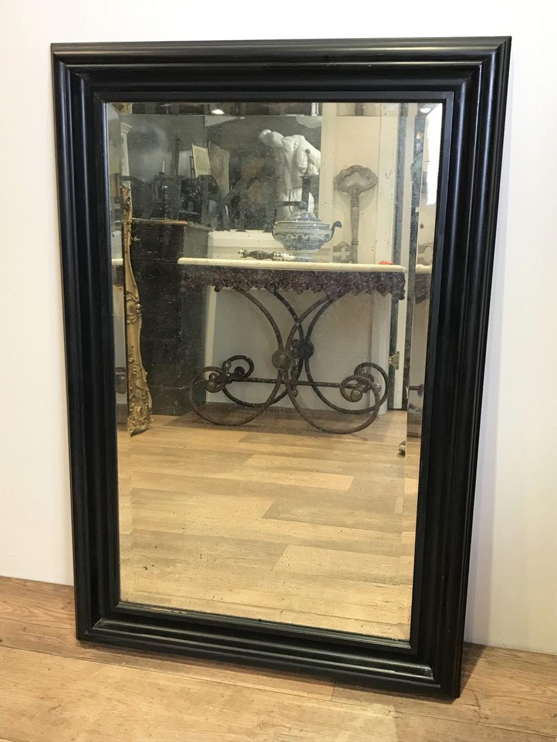 LARGE BEVELLED GLASS MIRROR