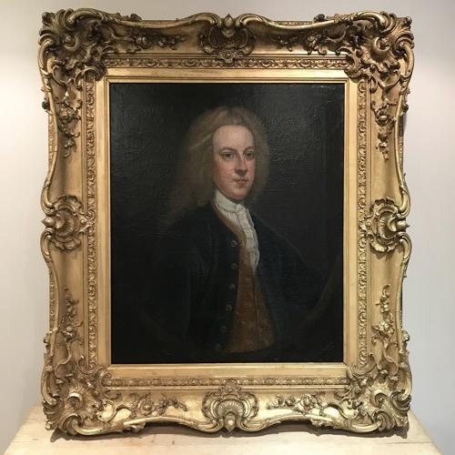 EARLY 18TH CENTURY PORTRAIT PAINTING