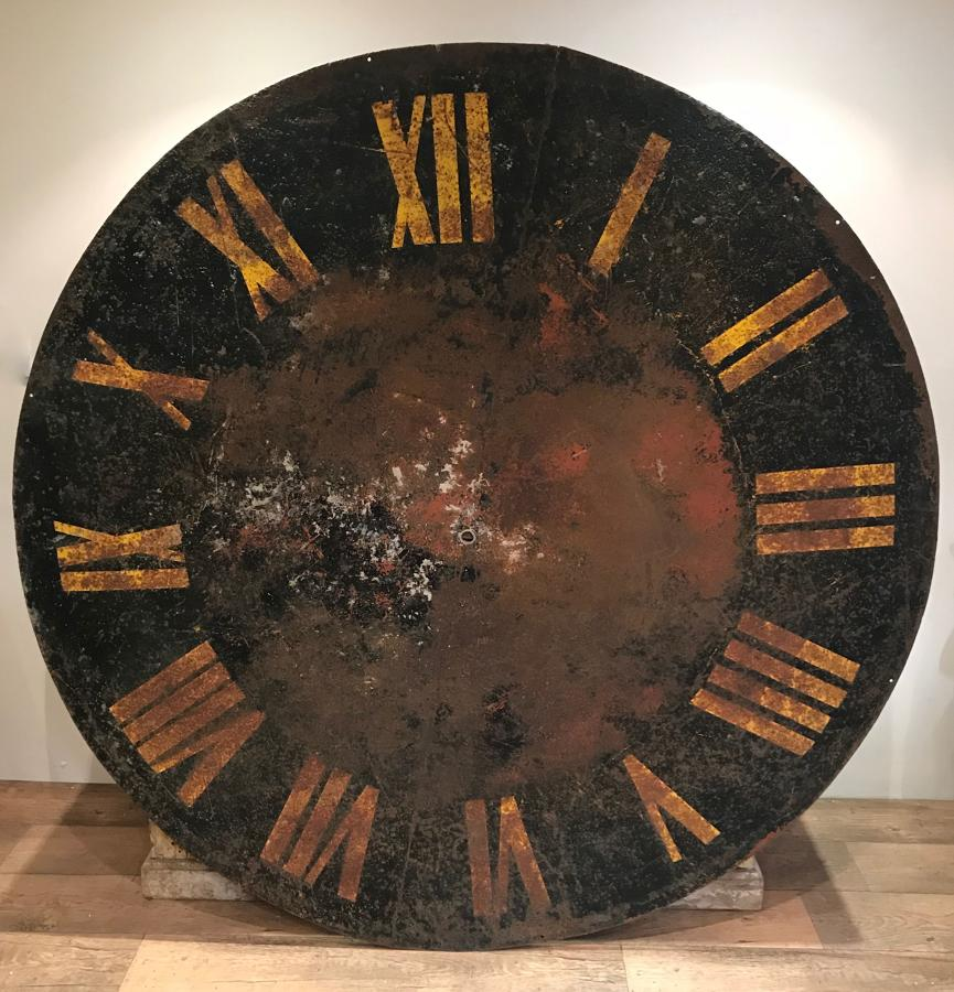 LARGE 19TH CENTURY TOWER CLOCK FACE