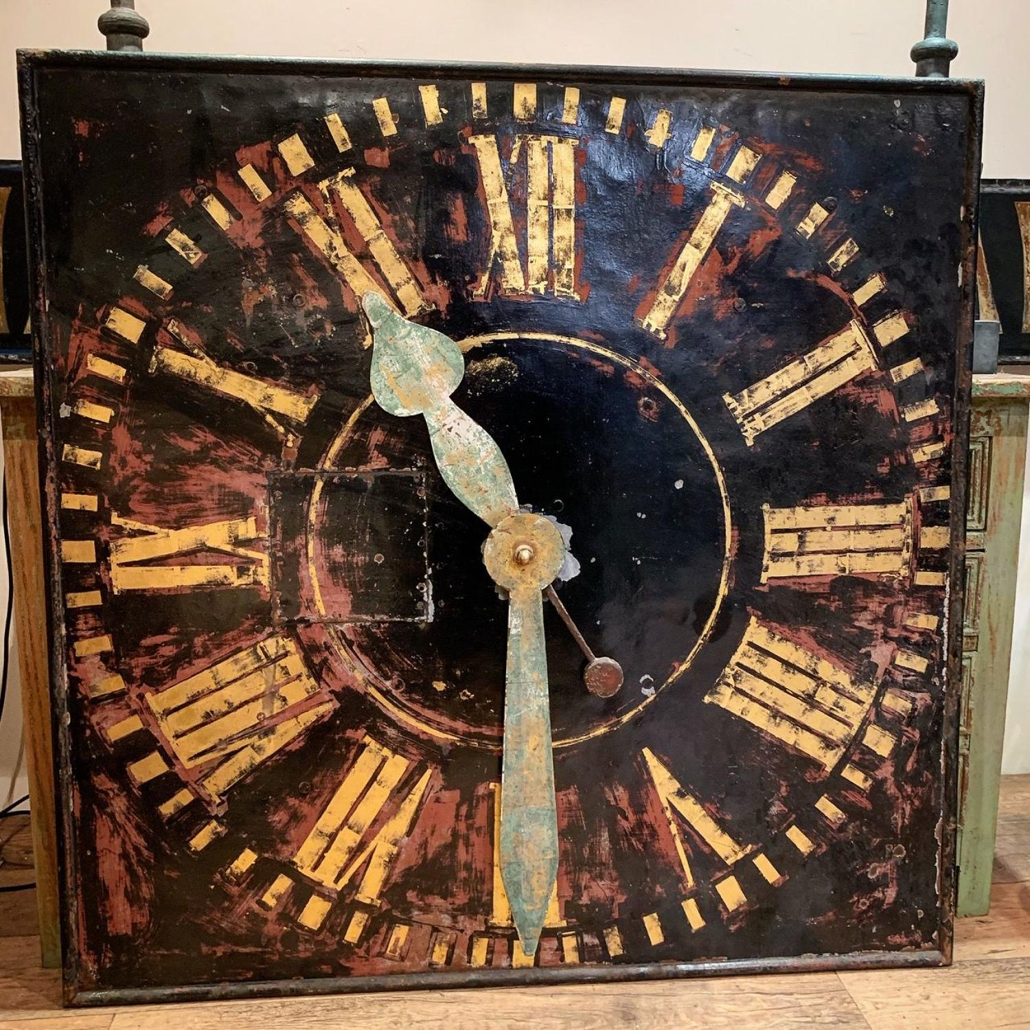 LARGE TOWER CLOCK FACE
