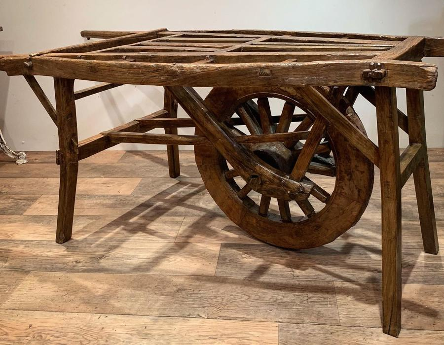 19TH CENTURY CHINESE HAND CART
