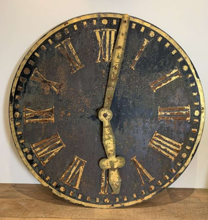 LARGE GERMAN TOWER CLOCK FACE