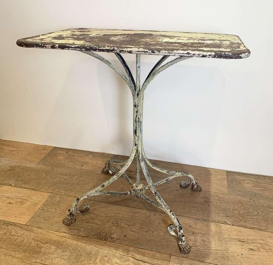 FRENCH ARRAS GARDEN TABLE