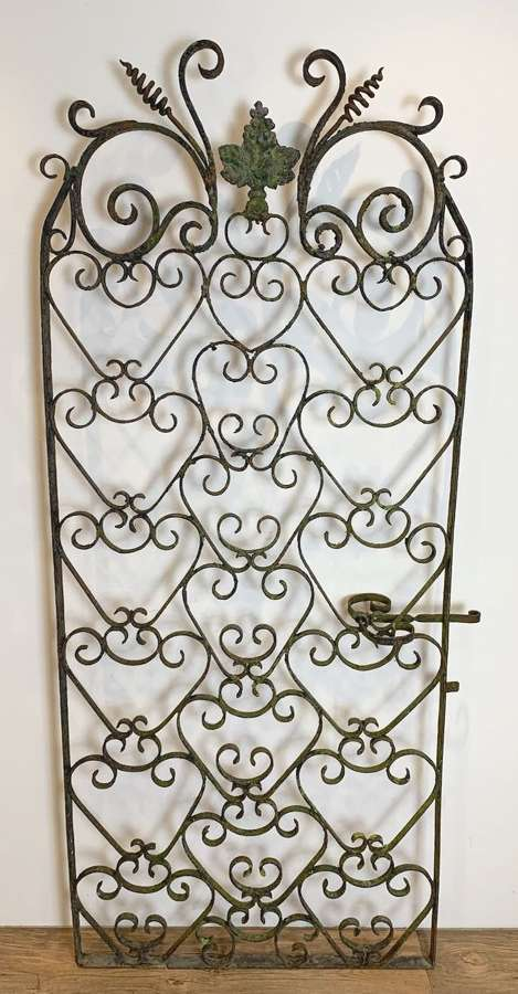 19TH CENTURY FRENCH WINE CELLAR GATE