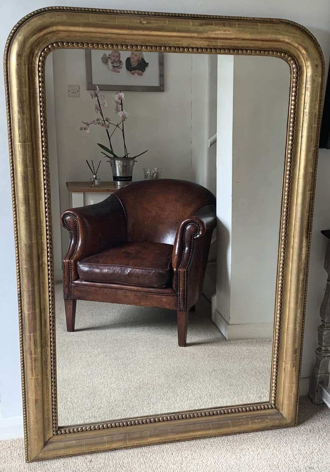 LARGE LOUIS PHILIPPE MIRROR