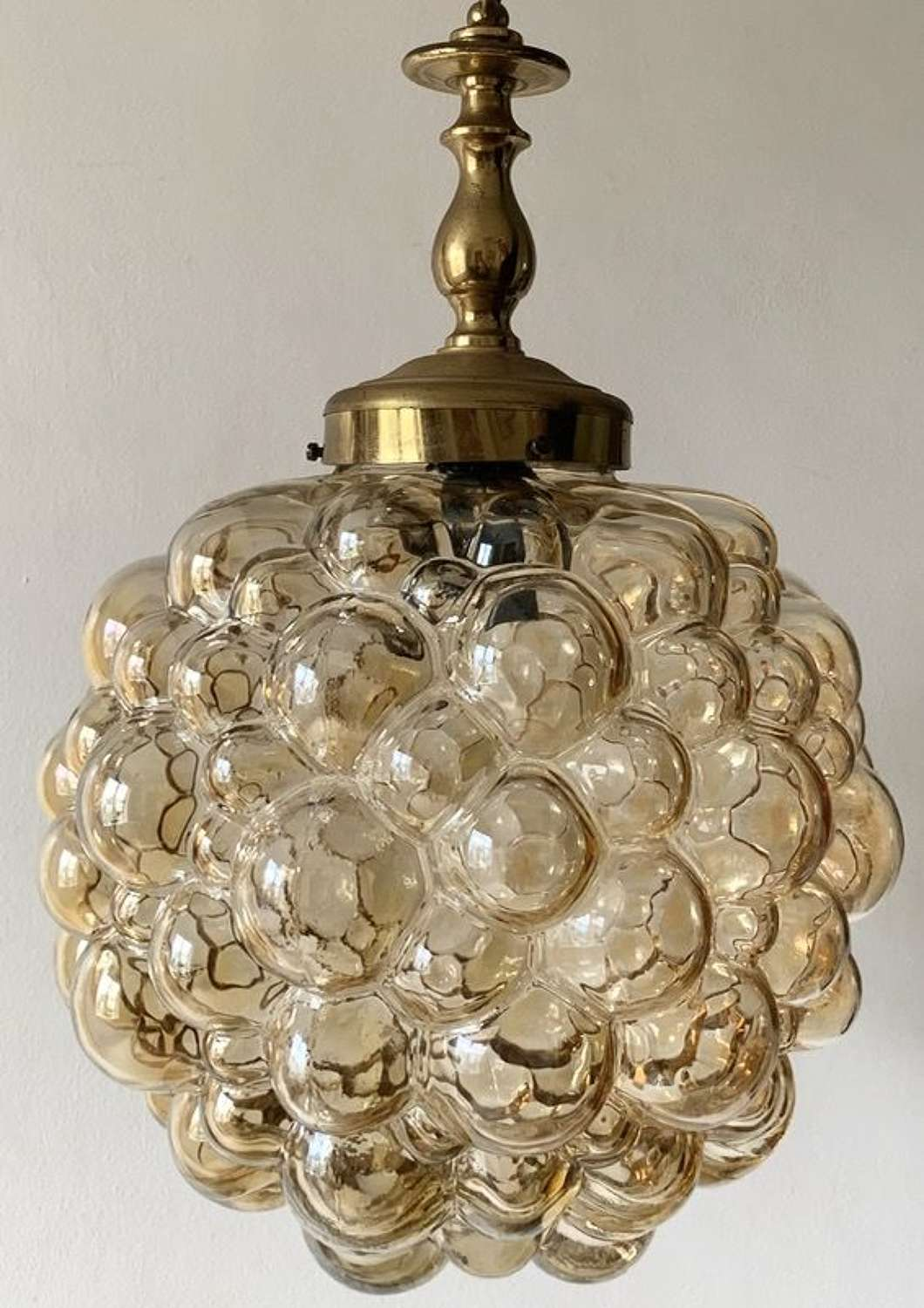 VINTAGE HELENA TYNELL BUBBLE PENDANT LIGHT
