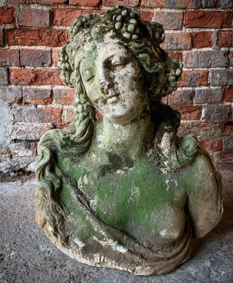 LARGE NEOCLASSICAL BUST
