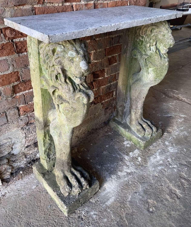 LION CONSOLE TABLE
