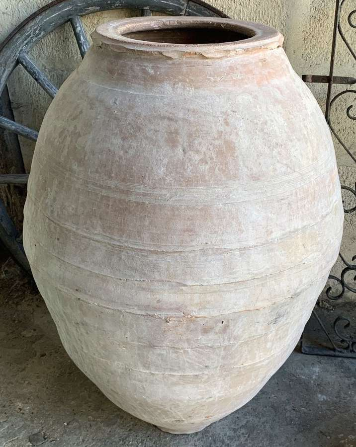 LARGE TURKISH TERRACOTTA URN