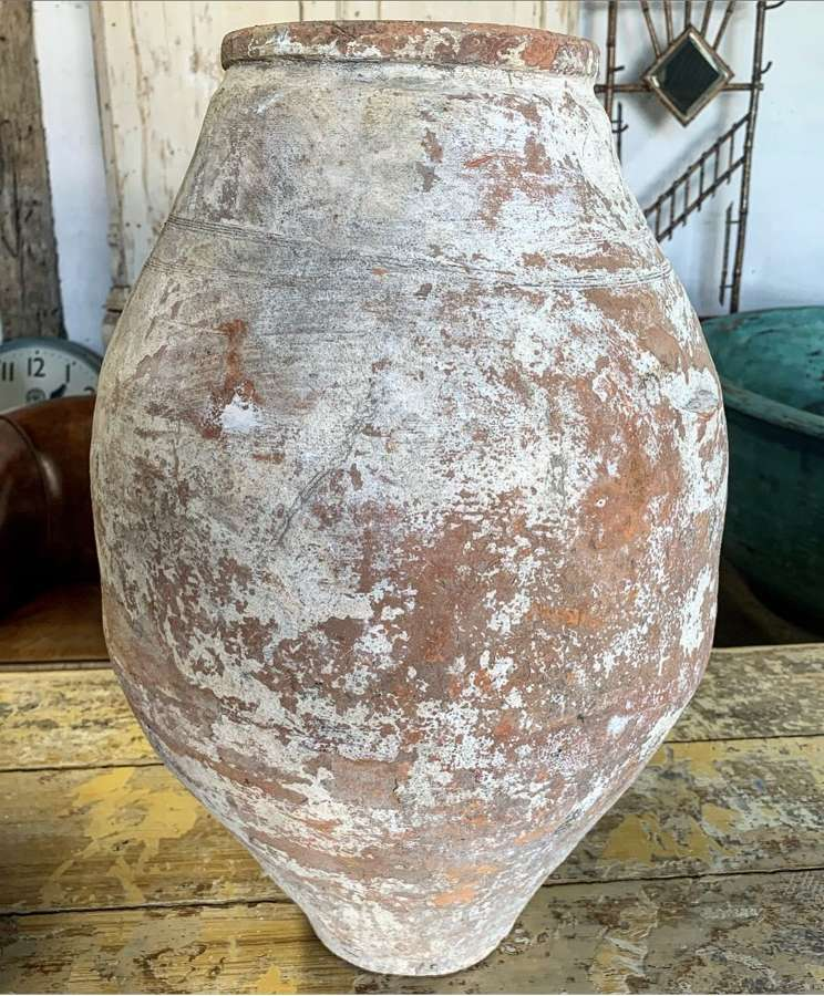 TURKISH TERRACOTTA URN