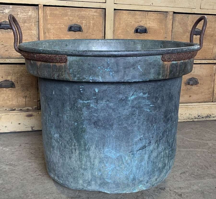 LARGE 19TH CENTURY FRENCH COPPER PLANTER