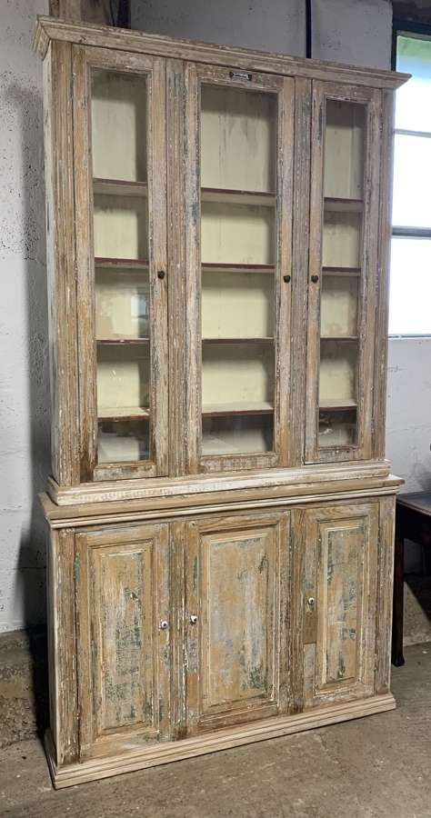FRENCH PHARMACY DISPALY CABINET