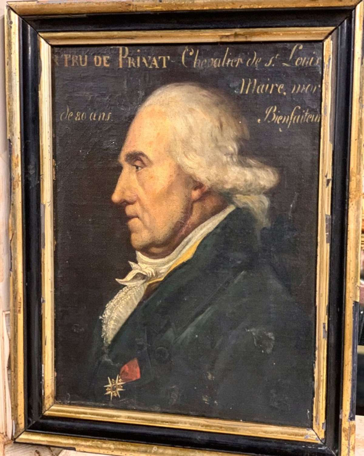 18TH CENTURY FRENCH PORTRAIT PAINTING