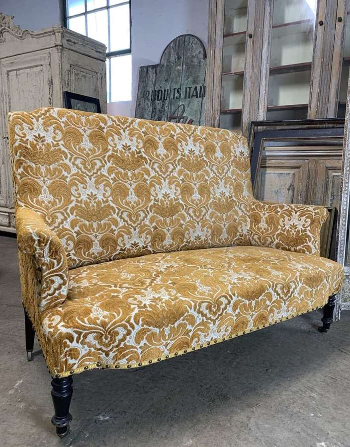 FRENCH NAPOLEON III SOFA