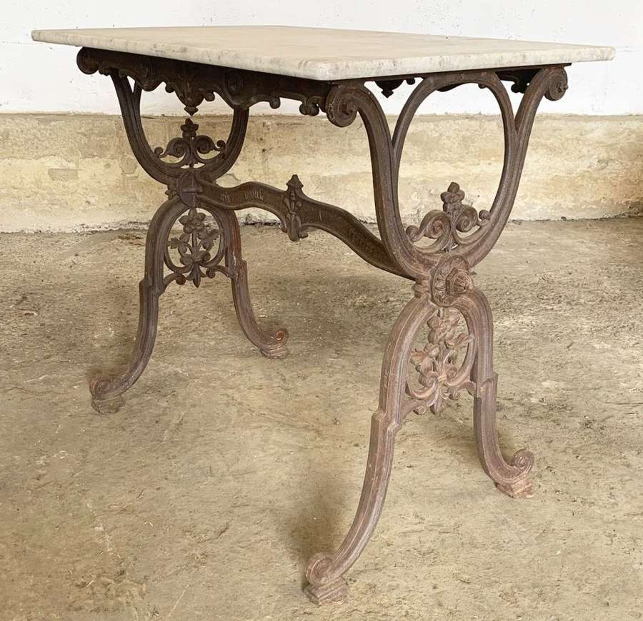 19TH CENTURY FRENCH BISTRO TABLE
