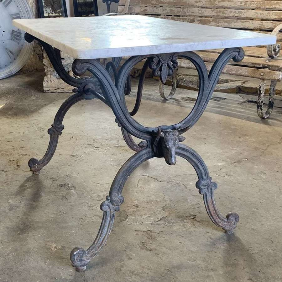 19TH CENTURY FRENCH BUTCHERS TABLE